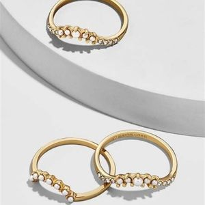 NWT • Baublebar • Dynasty Set of 3 Rings